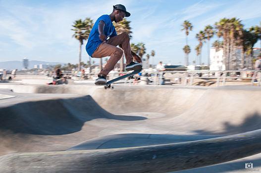 Skatepark à Venice beach