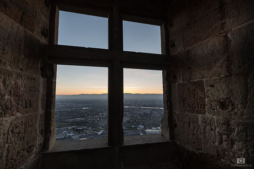 Depuis la fenêtre du château