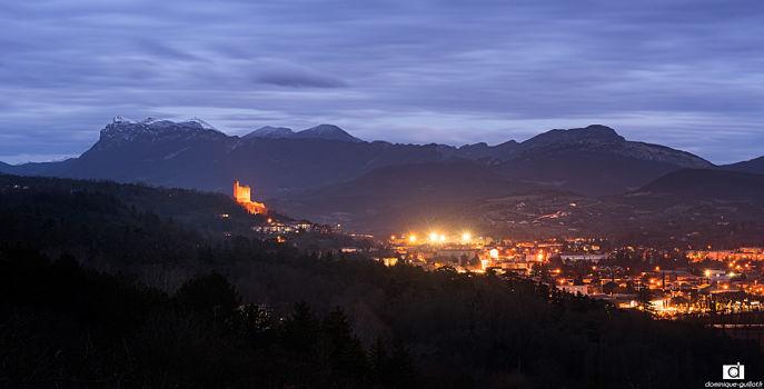 Crest et la vallée de la Drôme