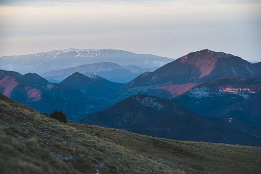 Mont Ventoux, au loin ...