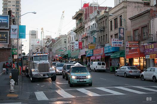 Quartier chinois de San Fransisco