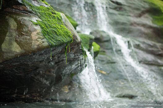 Waterfall near Merlin's cave