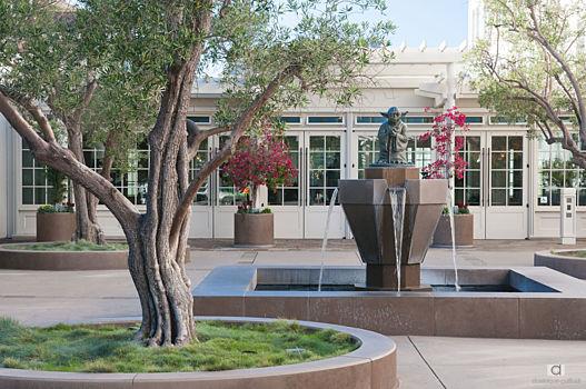 Yoda Fountain dans le parc du presidio