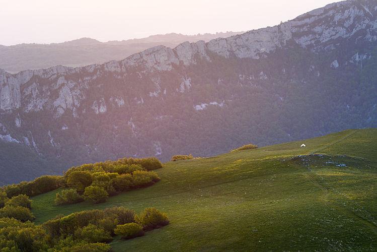 Bivouac sur le plateau d'Ambel