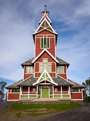Buksnes church