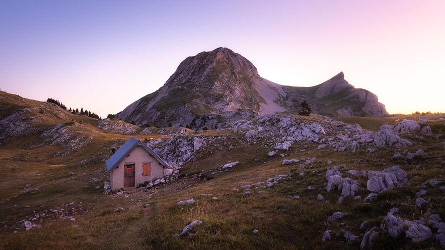 La cabane des Aiguillettes