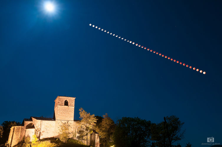Eclipse totale de lune de 2015