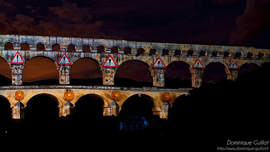 Fééries du Pont du Gard