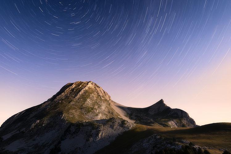 Grand Veymont sous les étoiles