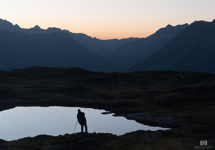Photographe au Lac Noir