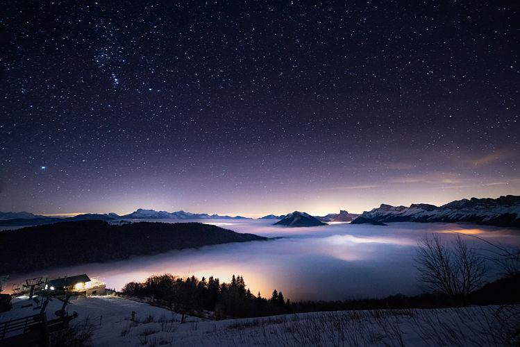 Une belle nuit étoilée