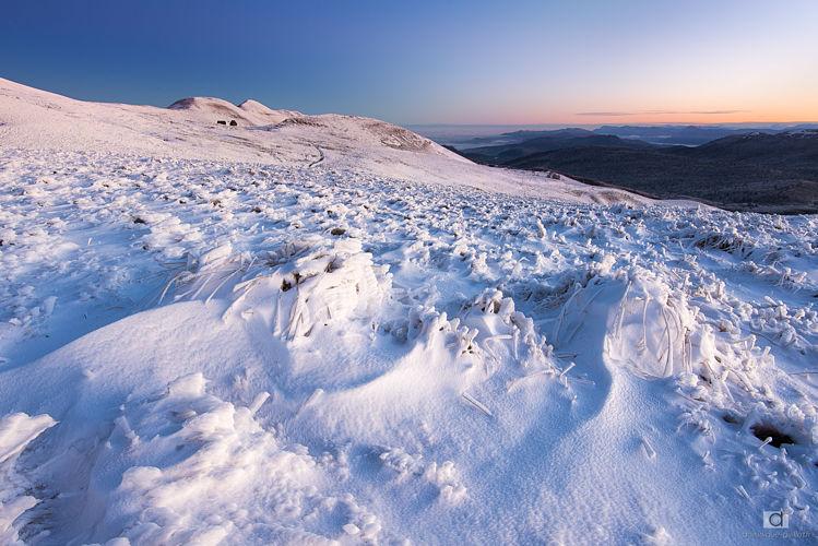 Première neige sur Font d'Urle