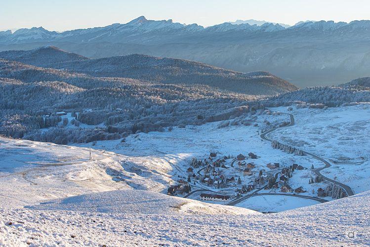 Le petit village de Font d'Urle