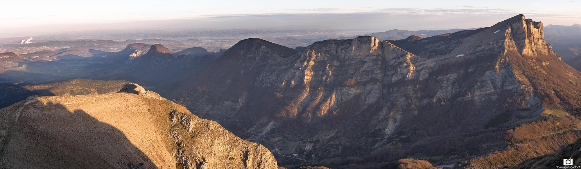 Les 3 Becs depuis le Grand Delmas