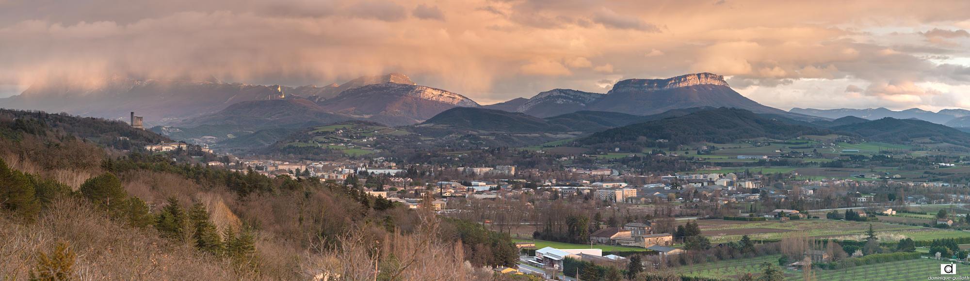 Crest - Vallée de la drôme