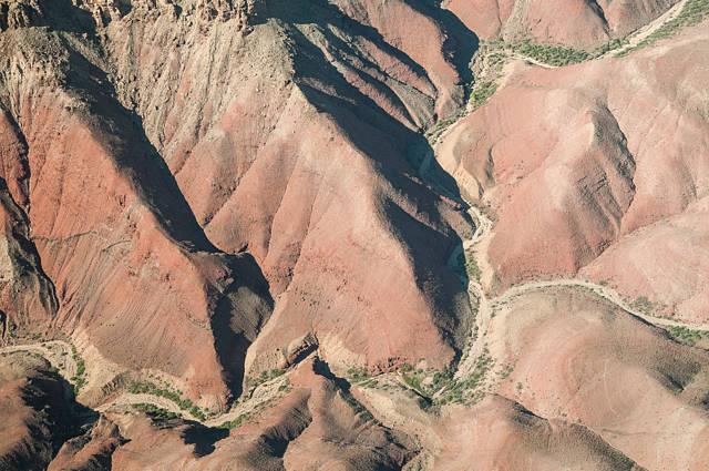 Grand Canyon vu depuis l'avion