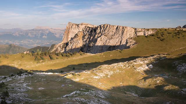 Un bout du mont Aiguille