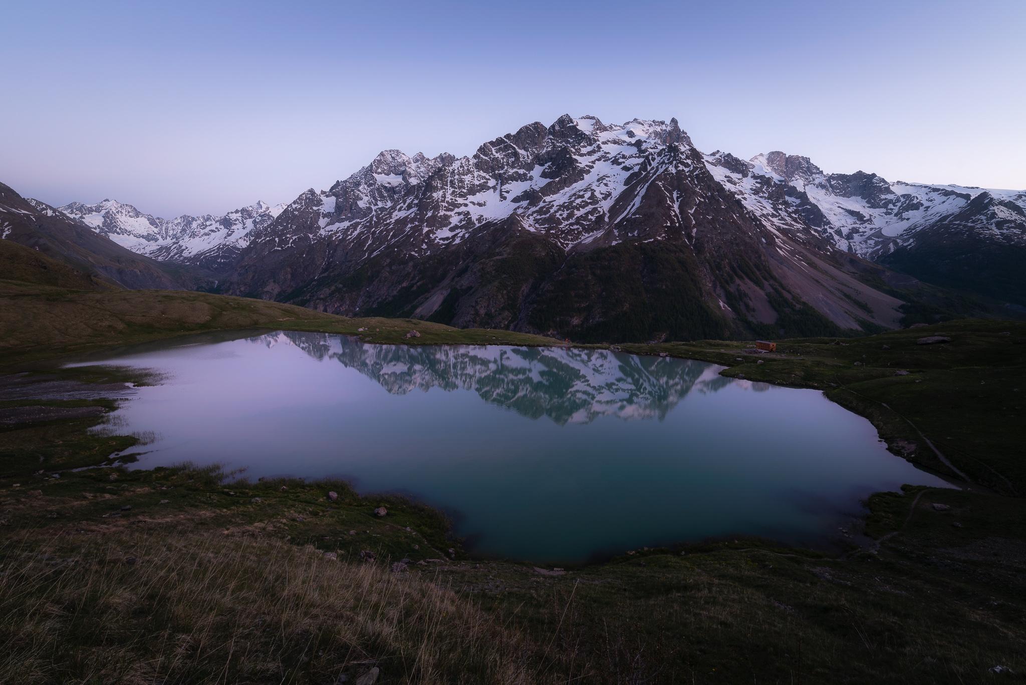 Panoramique sur le lac