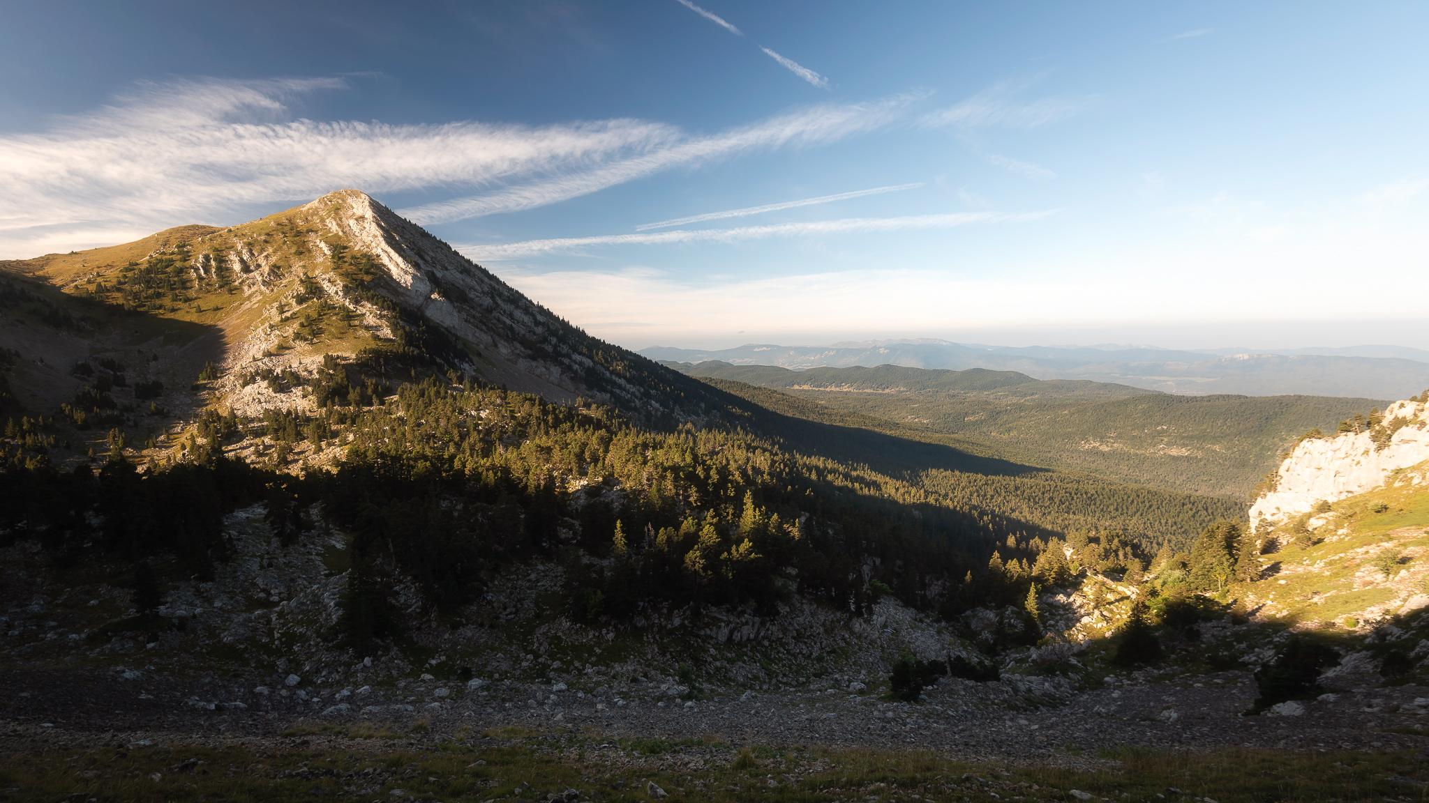 Un morceau de la réserve naturelle des hauts plateaux
