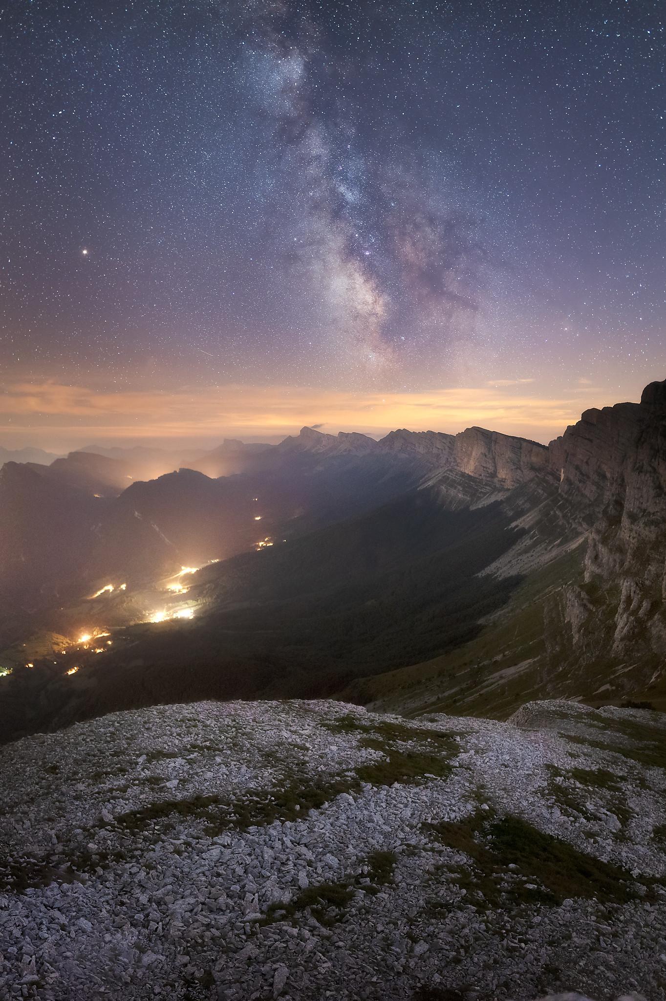 Le Vercors sous les étoile